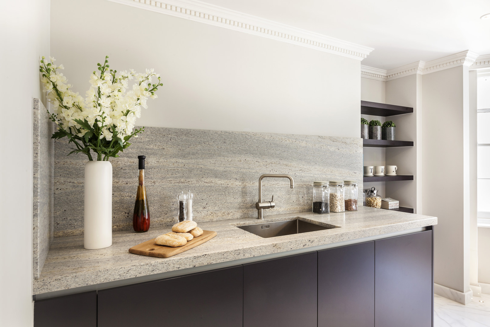 New 2/3 bedroom apartments were created to the highest of specifications within the constraints of a listed building in Soho's conservation area, including roof terraces, basement courtyards and balconies